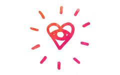 Logo stellar medicine dance