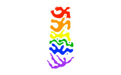 Logo Tamalpa arc en ciel